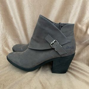 Blowfish ankle boots with side buckle